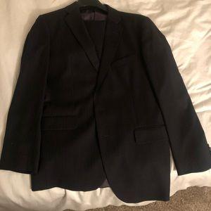 Joseph Abboud pinstriped suit 42 36